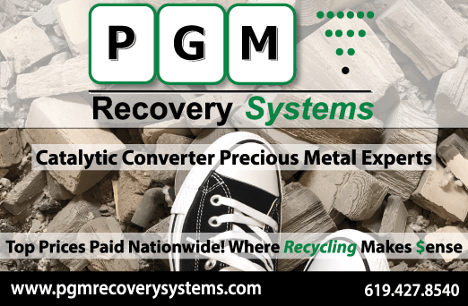 PGM Recovery Systems - catalytic converter recycling & O2 sensor recycling